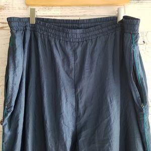 Givenchy vintage windbreaker pants 1x